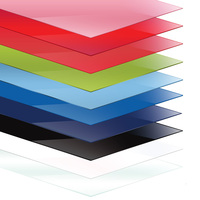 Coloured Perspex Acrylic Sheet Plastic Material Panel High Quality Lucite Sheet Acrylic Board