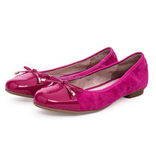 Italian latest new design wholesale fancy nice flat ladies fashion shoes 2016 guangzhou