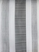 100 polyester sheer stripe curtain fabric,patterned sheer curtain