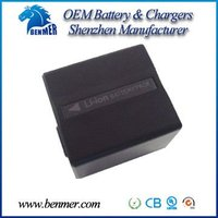 1050mAh 7.2V Li-ion battery, Camcorder battery For Pana.VW-VBD120/CGA-DU12 ( CE,UL,RoHS Certificate )