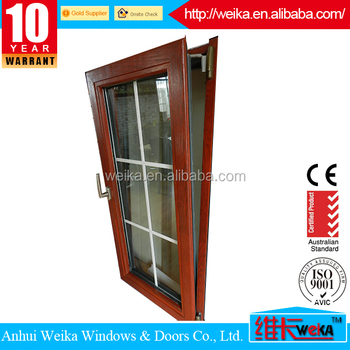 Cheap Wholesale tilt and turn aluminum and wooden window