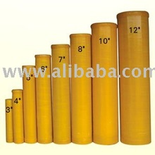 "6"" Fiberglass Mortar Tube for Display Shells"