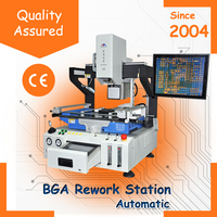 SMT Equipment Automatic BGA Station ZM-R6823 X-Ray BGA Machine for SMT SMD PCB BGA Rework Removing Soldering and Mounting