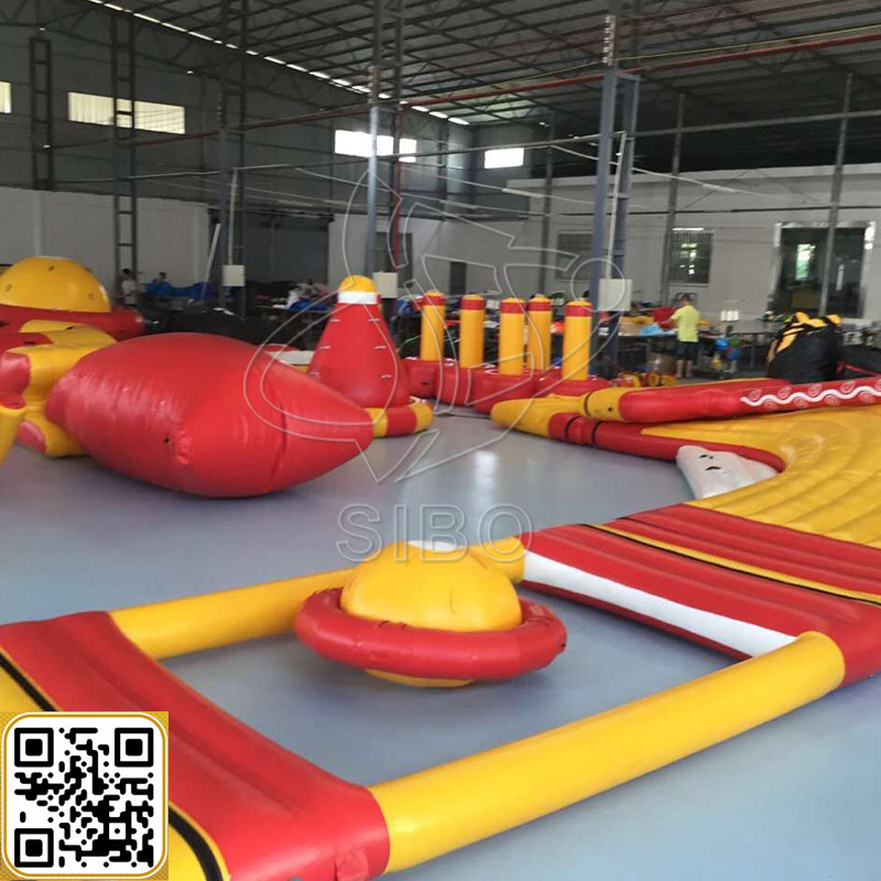 GMIF Sibo floating game swimming pool inflatable equipment hire