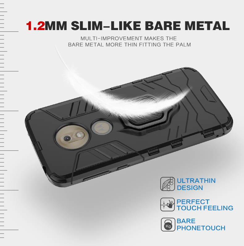Good price Armor Shockproof TPU PC Mobile Phone Cover For moto g7 play Cover