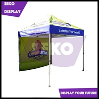 Pop up stand aluminum tent for trade show
