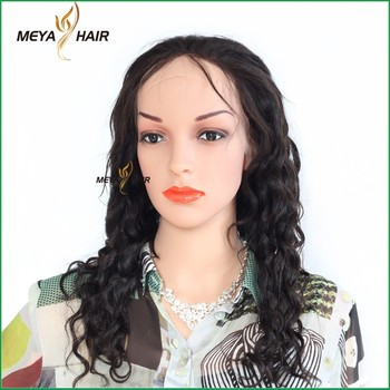 Manufacturer pure hair fast delivery deep wave full lace human hair wig can be bleached and dyed 613#