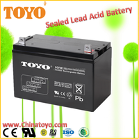 12V100Ah Lead acid VRLA sealed Maintennace free factory activated battery UPS battery lawn and garden battery