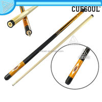 CUESOUL Cheap Sunflower Printed American Ash Wood Billiards Pool Cue Stick
