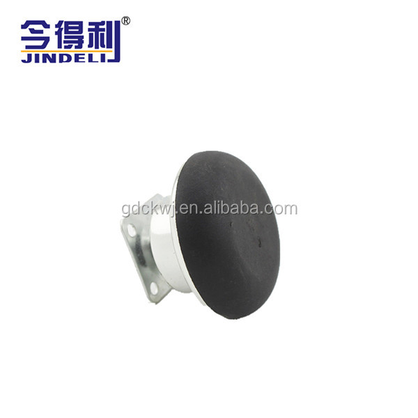 Furniture Caster Chrome Plastic Small Swivel Plate Carpet Bed Caster
