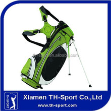 2015 green lightweight golf stand bag