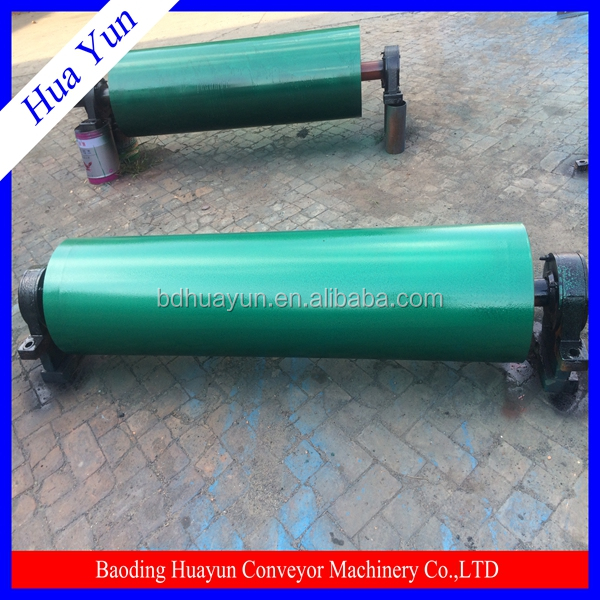 heavy transport Q235 carton iron pipe bend pulleys for mine rail