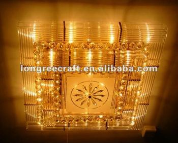 Square Crystal Recessed Light