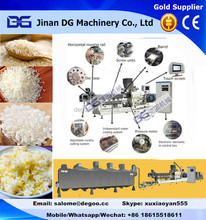 New style Artificial rice broken rice re-shaped processing machines from JInan DG Machinery