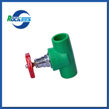 Multifunctional water ppr pipe valve fittings under din8077 8078 with CE certificate