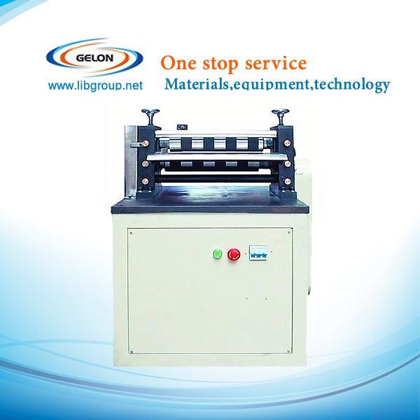 lithium ion battery electrode plate slitting Machine for battery electrode