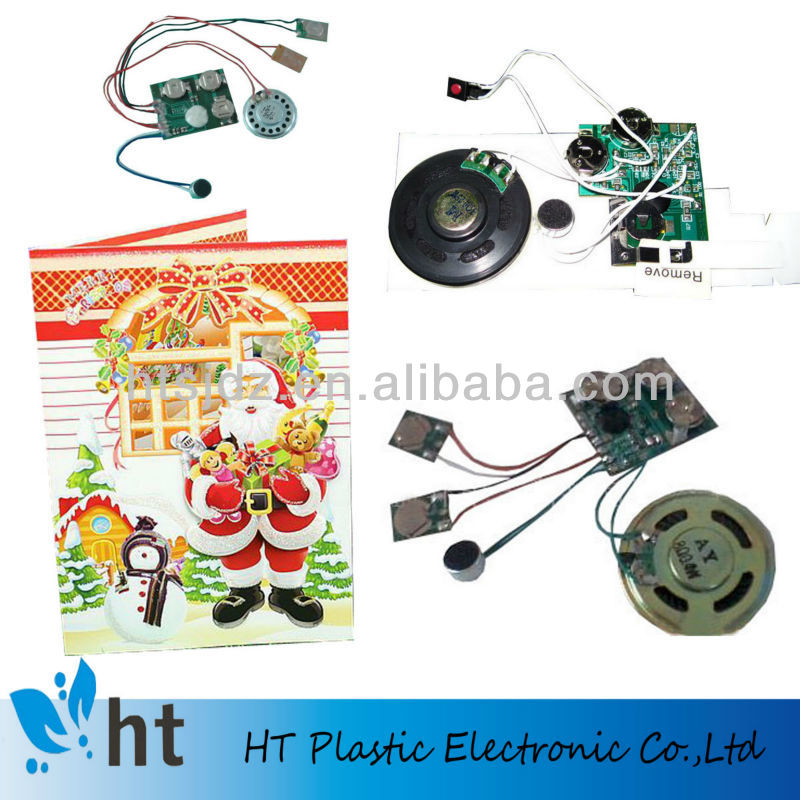 small recordable sound chip for greeting card/books