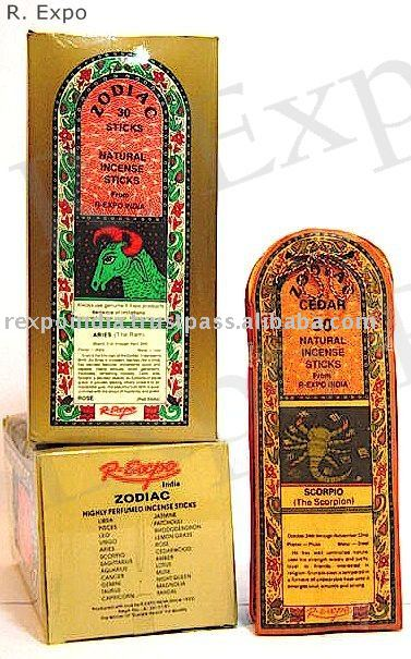 Herbal Zodiac Incense Sticks