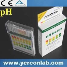 Bandelettes de test pH 4.5 - 9.0 pH1-14 d'urine, Ce FDA CE