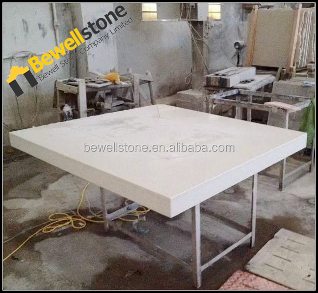Kitchen quartz round dining table top buy quartz dining for Quartz top dining table