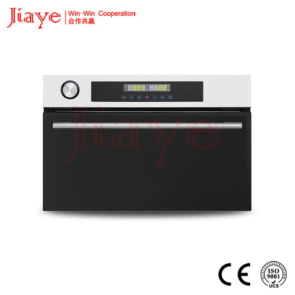 Black tempered glass built-in convection steam oven baking JY-BS1005