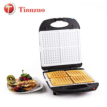 S108 Ningbo Tianzuo Hot Sale Ceramic Coating Waffle Grill Good Quality Waffles Maker