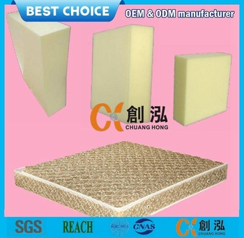 thin and hard rebonded foam mattresses