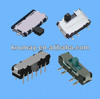 SMD SMT DIP Mini Micro Miniature Slide Switches 2P2T 2P3T