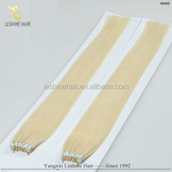 alibaba express water proof virgin human cheap wholesale remy blonde tape hair extensions