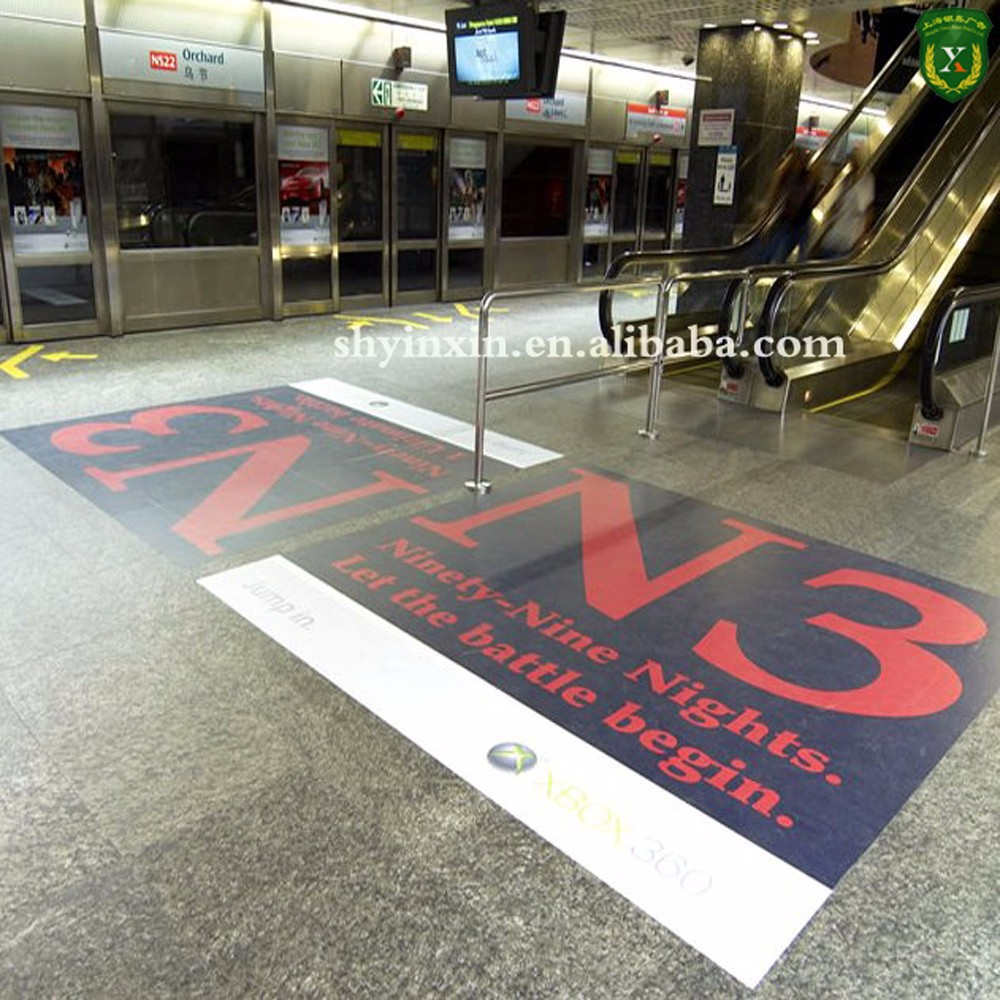 Floor sticker printing at custom