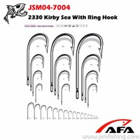 2330 Kirby Sea with ring hook similar with Mustad DT231 model hook JSM04-7004