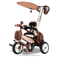 air pumped wheels baby tricycle, smart trike, children tricycle with air wheels