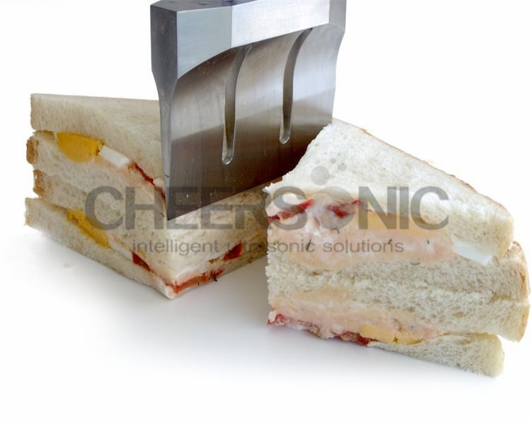 ultrasonic pizza quilting slicer cake cutting machine