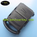 Good Price 2 button car key shell no writing on the backside with battery clamp fake car key