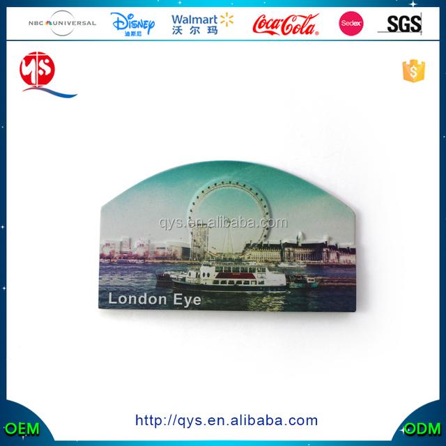 Wholesale Cheap Custom Fridge Magnet, London Eye Fridge Magnet