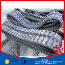 kubota kx021rubber track ,rubber pad 300*109*35 CHAIN ON RUBBER TRACK PAD,