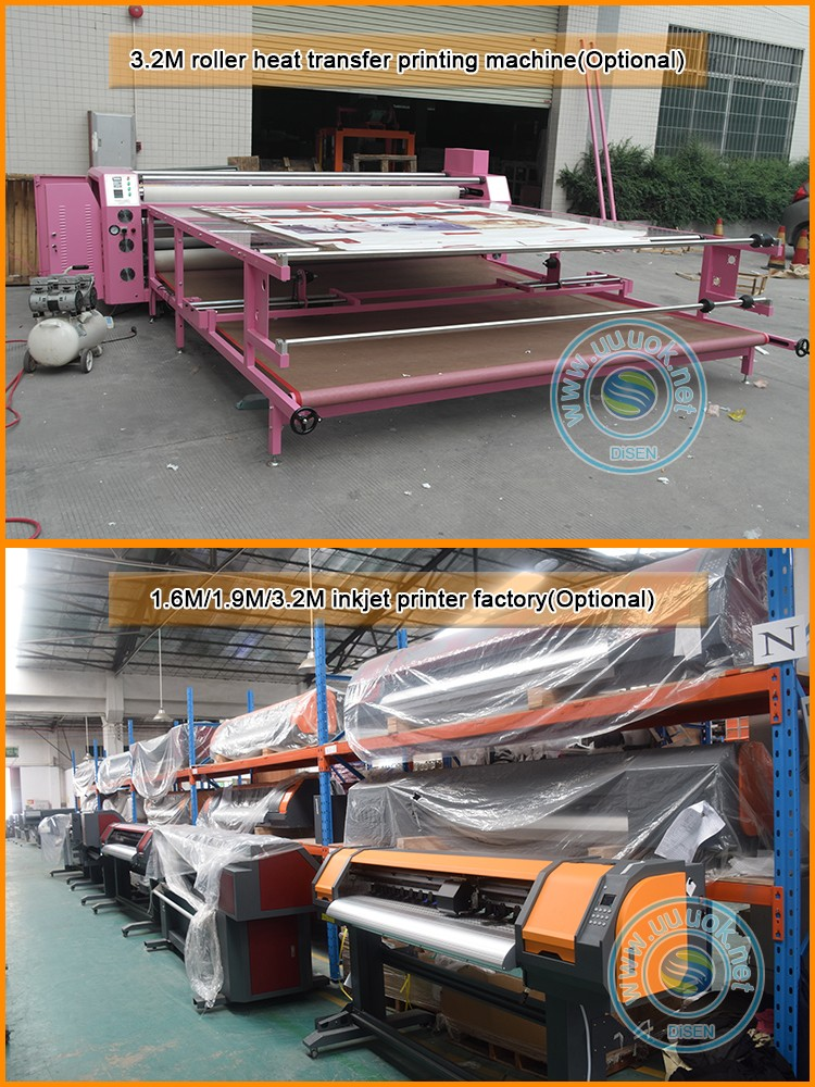 China factory outlet 120x150cm automatic hydraulic double sided lanyard big large size heat press machine
