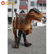 hot selling in dinosaur park mechanical T-rex dinosaur mascot costume for adults