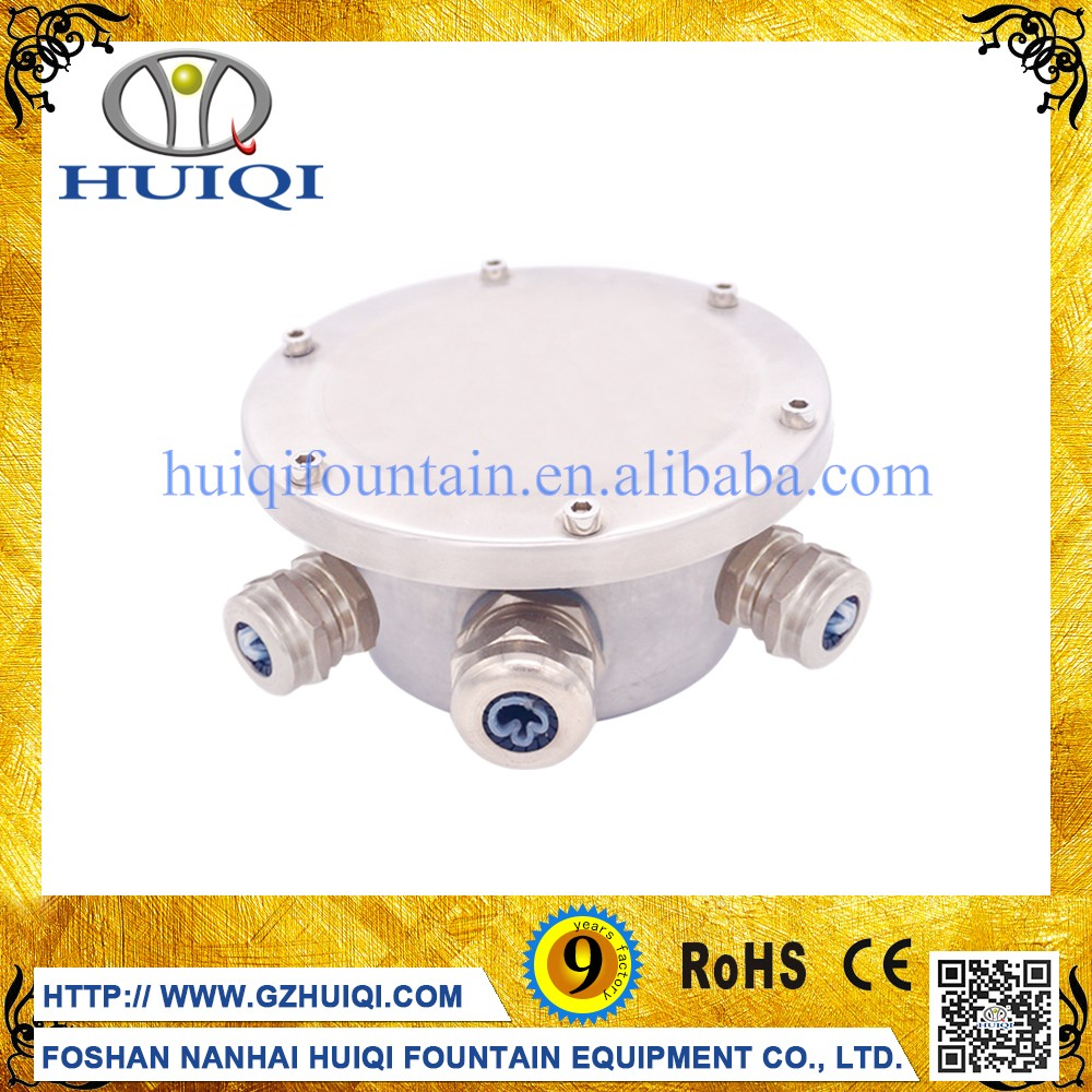 Factory Direct Sale IP68 Waterproof Full Stainless Steel Junction Box