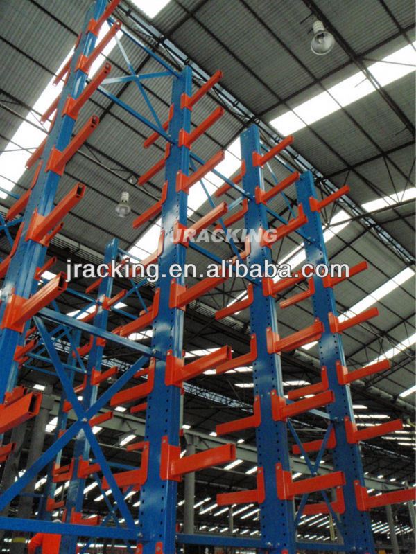 Warehouse stacking rack system,Industrial automation storage racking warehouse storage cantilever racking