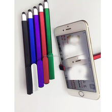 3 in 1 pen multifunctional plastic ball pen, stylus/touch for phone and mobile phone holder