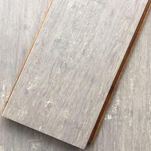 Strand woven silvery bamboo flooring for house decoration