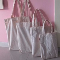 strong cotton canvas material fabric eco friendly tote candy bags