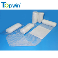 Factory manufacturing surgical 100% absorbent cotton gauze bandage