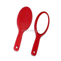 plastic cosmetic hand mirror, Magnifying hand makeup mirror
