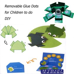 Removable Glue Dots for Children or Students to do DIY and Handworks