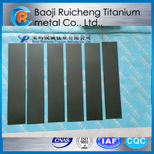 Ir Coating Titanium Anode plate for Pool water disinfection