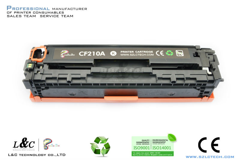 Compatible CF210 Toner Cartridges for HP LaserJet Pro <strong>200</strong> / M251/267