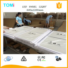 Wholesale White Frame 600x1200 led panel light LIFUD Power Driver CE,ROSH,GS,SAA Approved led lighting company