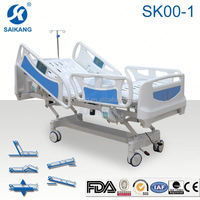 Cama hospitalar, SK001-1 Medical Bed, electrical icu bed